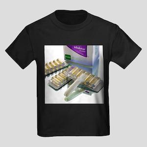 Nicotine inhalator - Kid's Dark T-Shirt