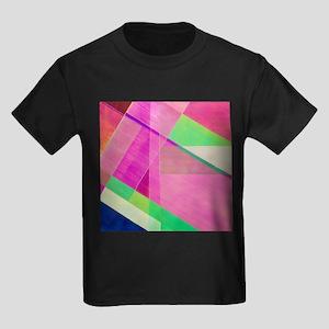 PLM of strips of cellophane - Kid's Dark T-Shirt