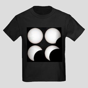 Solar eclipse - Kid's Dark T-Shirt