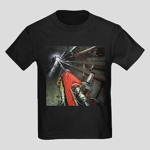 Tevatron accelerator, Fermilab - Kid's Dark T-Shir