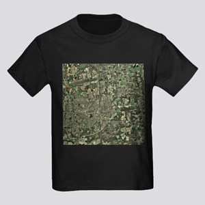 Crawley, UK, aerial image - Kid's Dark T-Shirt