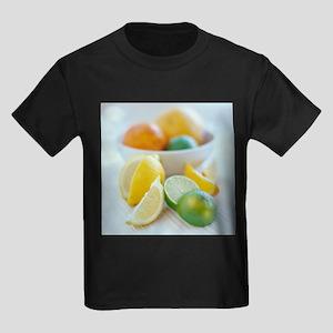 Citrus fruits - Kid's Dark T-Shirt
