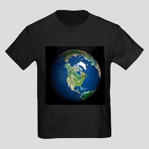 Earth - Kid's Dark T-Shirt