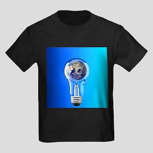 Global warming, conceptual image - Kid's Dark T-Sh
