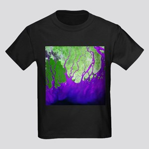 Ganges Delta - Kid's Dark T-Shirt
