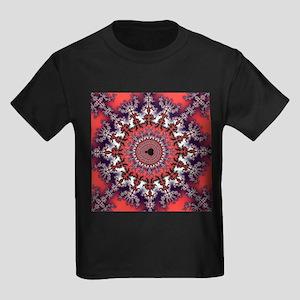 Mandelbrot fractal - Kid's Dark T-Shirt