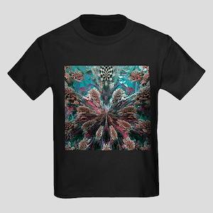 Mandelbulb fractal - Kid's Dark T-Shirt