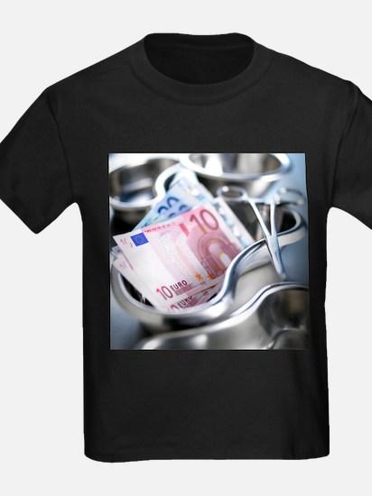 Medical costs - Kid's Dark T-Shirt