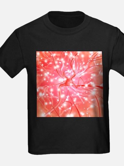 Nerve cell - Kid's Dark T-Shirt