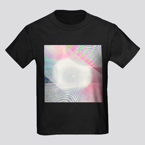 Newton's rings effect - Kid's Dark T-Shirt
