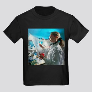 DNA sequencing - Kid's Dark T-Shirt