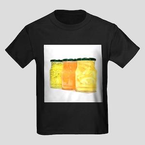 Food in jars - Kid's Dark T-Shirt
