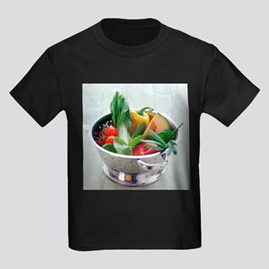 Fruit and vegetables - Kid's Dark T-Shirt