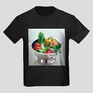 Fruit and vegetables - Kid's Dark T-Shirt