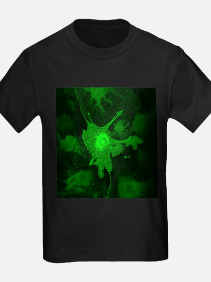 Human cell - Kid's Dark T-Shirt