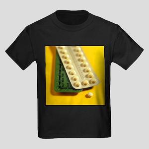 Oral contraception - Kid's Dark T-Shirt