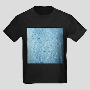 Moon braille - Kid's Dark T-Shirt