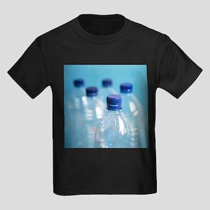 Plastic water bottles - Kid's Dark T-Shirt
