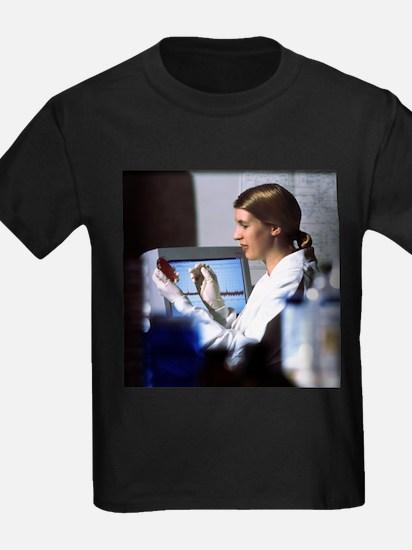 Scientist - Kid's Dark T-Shirt