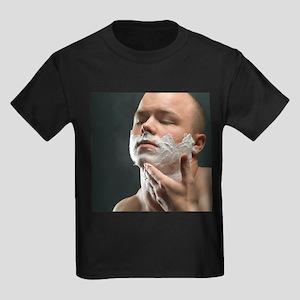 Shaving foam - Kid's Dark T-Shirt