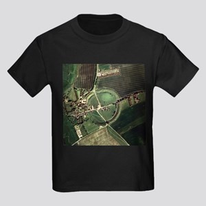 Avebury ring - Kid's Dark T-Shirt