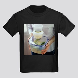 Salad ingredients - Kid's Dark T-Shirt