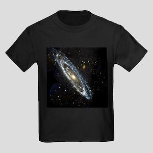 Andromeda Galaxy, UV image - Kid's Dark T-Shirt