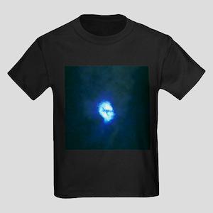 Core of spiral galaxy M51 - Kid's Dark T-Shirt