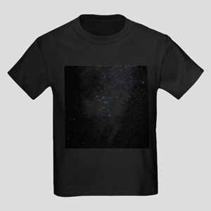 Delphinus constellation - Kid's Dark T-Shirt