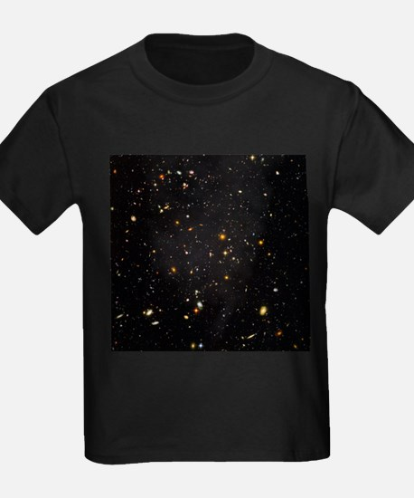 Hubble Ultra Deep Field galaxies - Kid's Dark T-Sh