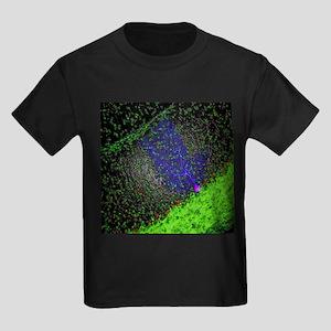 Purkinje nerve cell - Kid's Dark T-Shirt