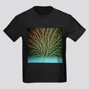 Electron tree in a block of plastic - Kid's Dark T