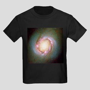 Star birth in galaxy NGC 4314 - Kid's Dark T-Shirt