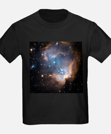 Starbirth region NGC 602 - Kid's Dark T-Shirt