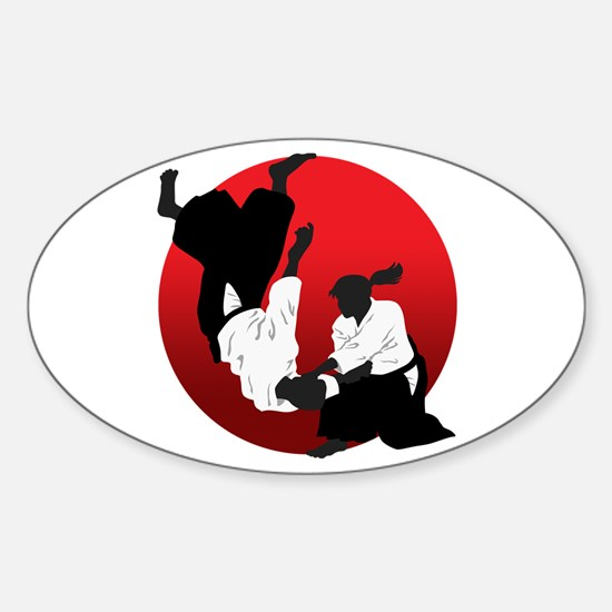 Aikido Sticker (Oval)