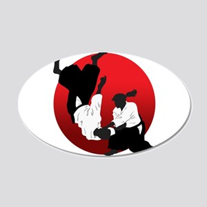 Aikido 20x12 Oval Wall Decal
