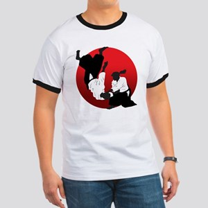 Aikido Ringer T