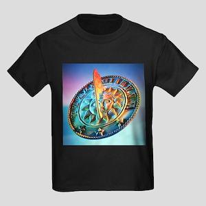 Sundial - Kid's Dark T-Shirt