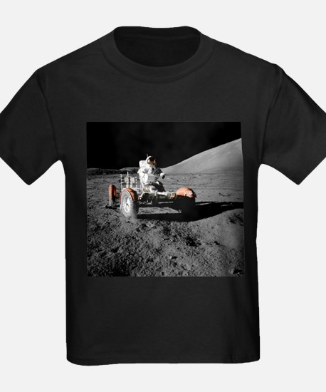 Eugene an on Lunar Rover, Apollo 17 - Kid's Dark T
