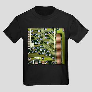 Macrophotograph of printed circuit board - Kid's D
