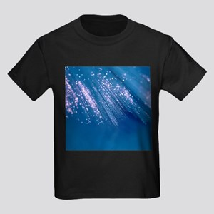 Optical fibres - Kid's Dark T-Shirt