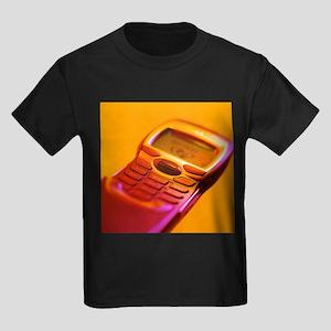 WAP mobile telephone - Kid's Dark T-Shirt
