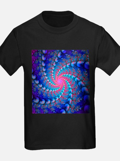 Julia fractal - Kid's Dark T-Shirt