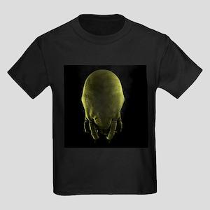 Dust mite, artwork - Kid's Dark T-Shirt