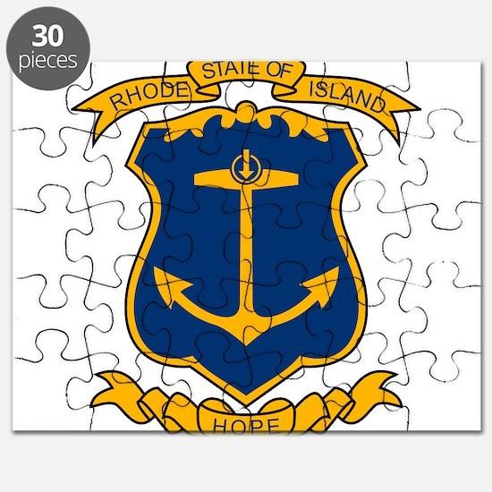 COA of Rhode Island Puzzle