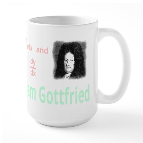 Team Gottfried (for dark background) Large Mug