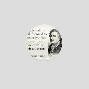People Will Not Look Forward - Edmund Burke Mini B