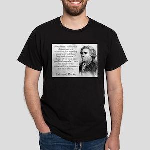 Stonehenge - Edmund Burke T-Shirt