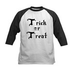 Trick or Treat Jolly Roger Kids Baseball Jersey
