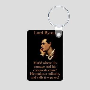 Mark Where His Carnage - Lord Byron Aluminum Photo